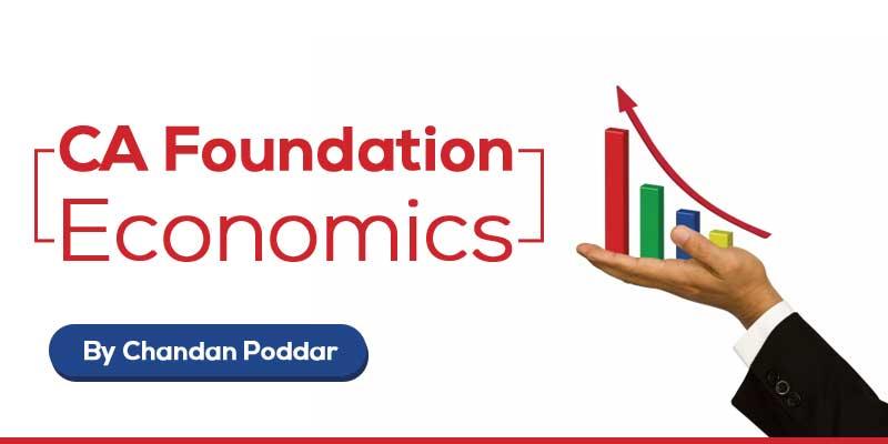 CA - Foundation || Economics