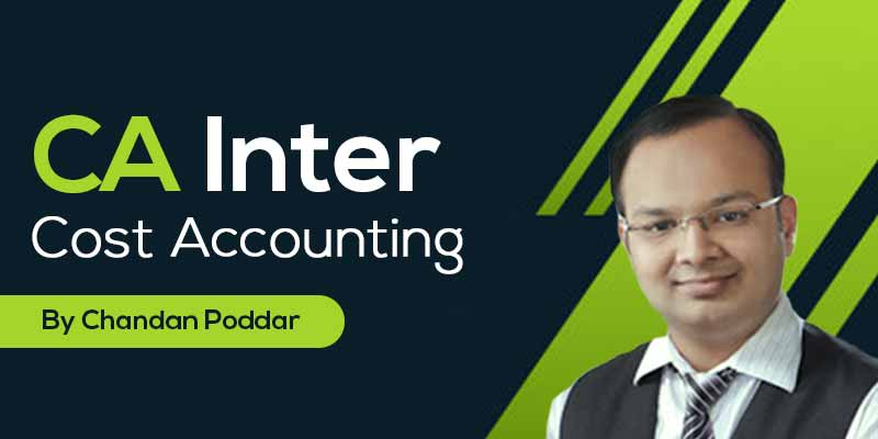 CA Inter || Cost Accounting
