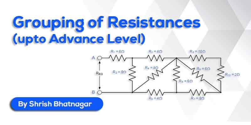 12th Physics - Grouping of Resistances