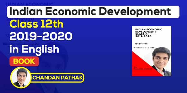 Class 12th Indian Economic Development Book (in English)