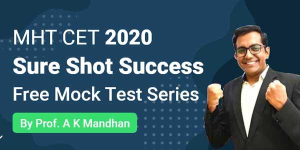 MHT CET 2020 - Sure Shot Success | Free Mock Test Series