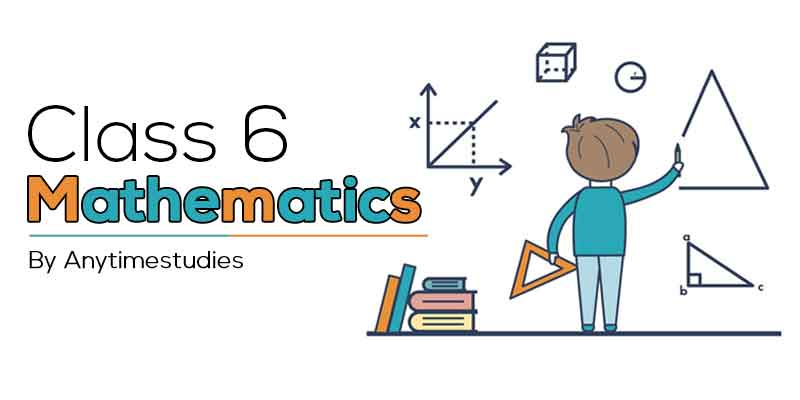 Anytimestudies Class 6 Mathematics Animated Video Lecture in English & Hindi (DVD)