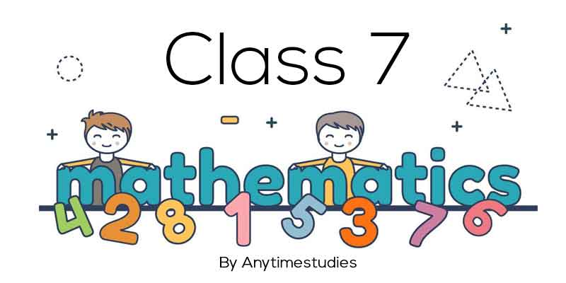 Anytimestudies Class 7 Mathematics Animated Video Lecture in Hindi & English (DVD)