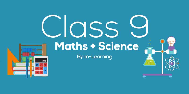 M Learning Offline Course for Class 9th - Maths + Science