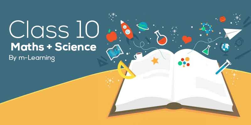 M Learning Offline Course for Class 10th - Maths + Science