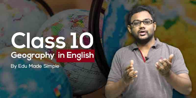 10th Geography - Kerala Board ( English )