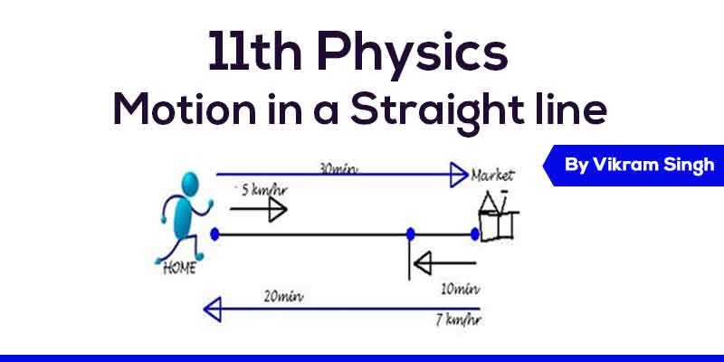Class 11th Physics | Chapter 3 - Motion in a Straight line