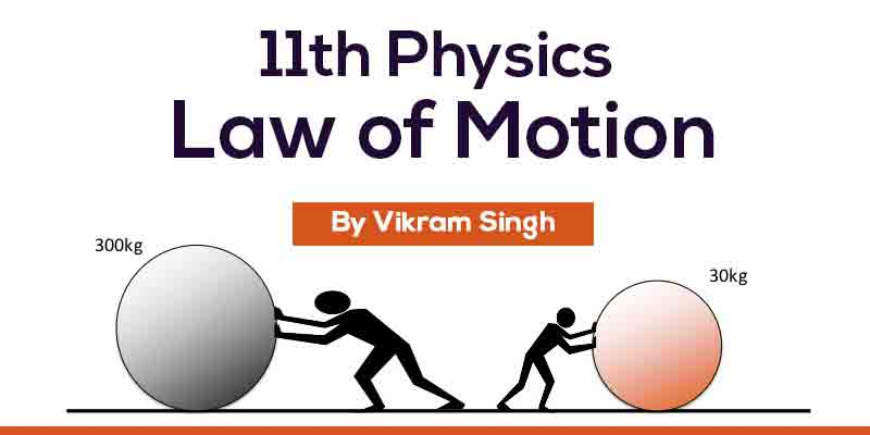 Class 11th Physics | Chapter 5 - Laws of Motion