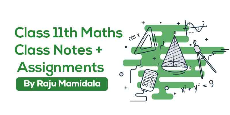 Class XI Maths  Complete Material ( Integrated Syllabus)