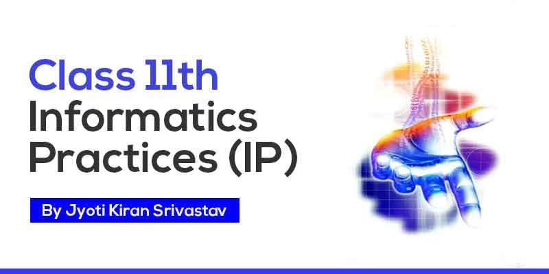 CLASS 11TH INFORMATICS PRACTICES (I.P)
